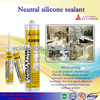 weather-proof silicone sealant; glass adhesive/glue; construction acrylic/silicone sealant