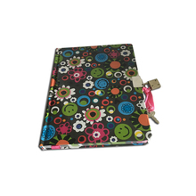 Paper Diary Notebook with Lock and Key