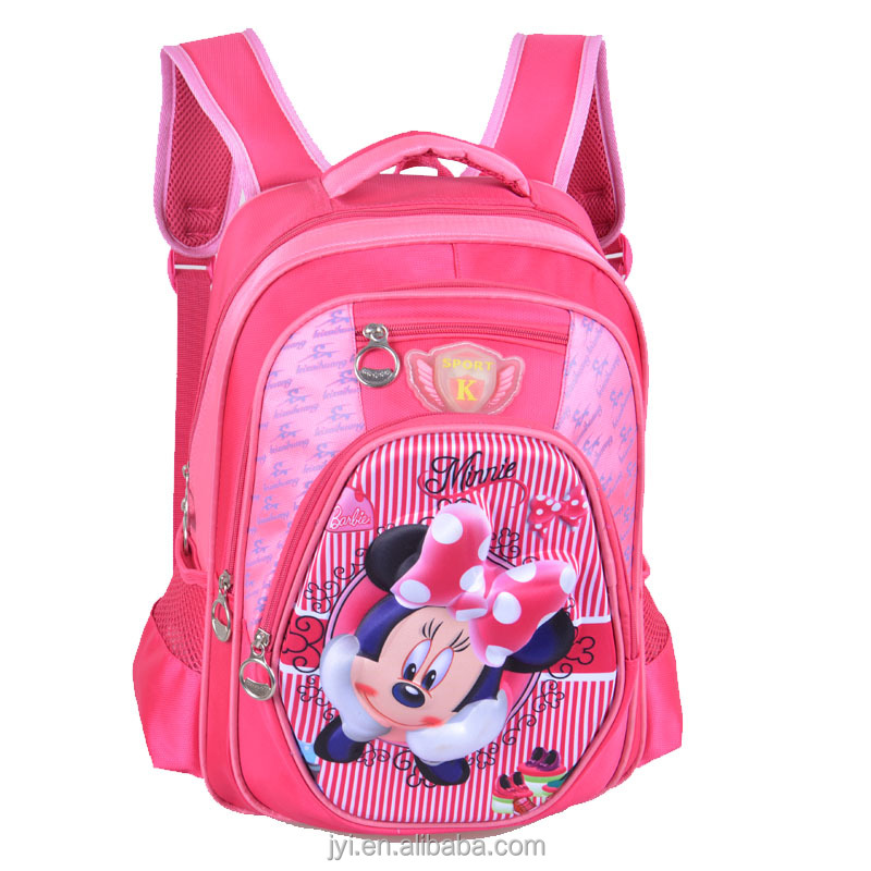 Wholesale Children School Bag,3d Mickey Mouse/hello Kitty ...