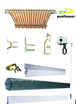 Retractable Aluminum Awning Components,Parts And ...