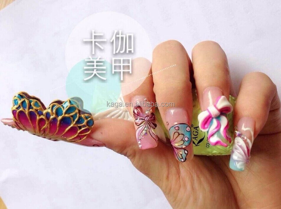 3d Nail Art With Gel Polish Hession Hairdressing