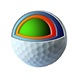 Amazon Hot Seller USGA Standard 4 pieces Urethane golf balls for competition Factory&Export Soft4