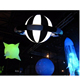 Inflatable planets style ceiling lighting decorations