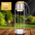 Coco Double Layer Glass Water Tea Bottle Mug Infuser with Tea Filter 300ml