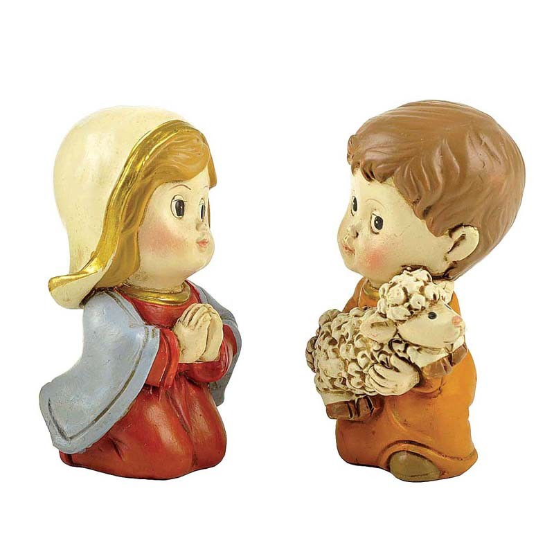 Polyresin religious figurines nativity set for home decoration