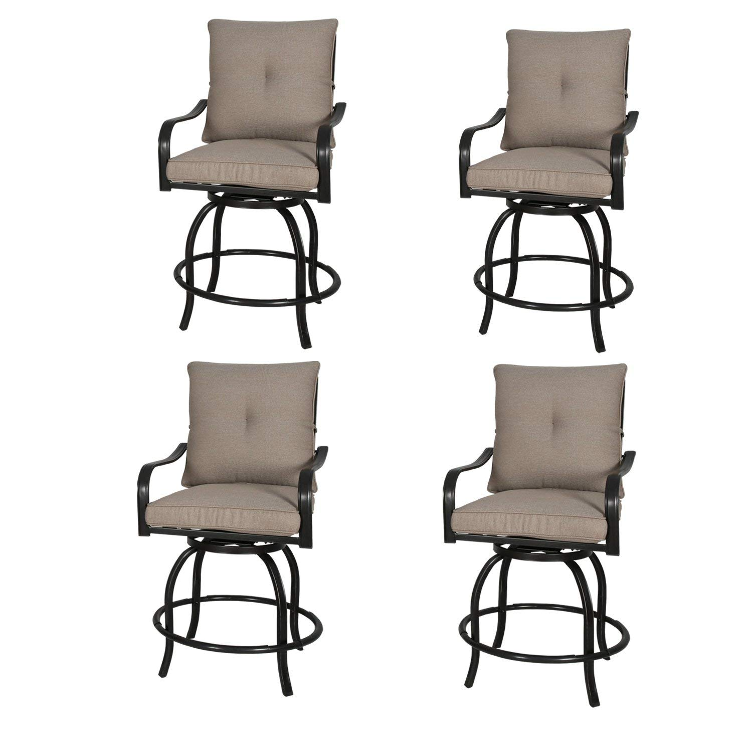 Outstanding Buy Rimba Outdoor Swivel Chairs Height Patio Bar Stools With Spiritservingveterans Wood Chair Design Ideas Spiritservingveteransorg