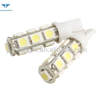 Dc 12v T10 Led 5050 Car Side Wedge White Light Bulb Lamp/bulb Lamp ...