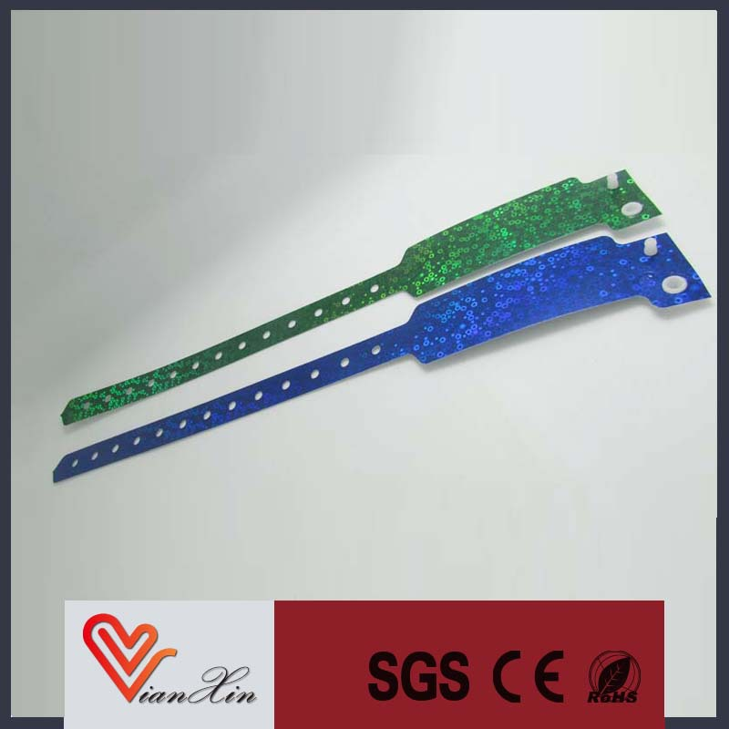 Cheap Customized Woven / Fabric Wristbands for Event