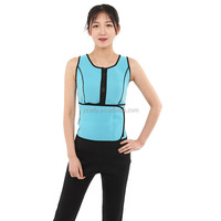 custom fitness wear waist training corset vest