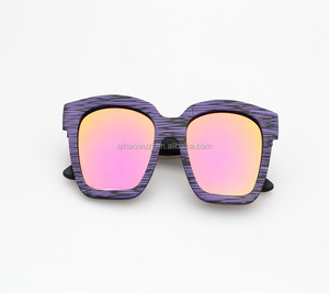 New products logo printing lady hot sale sunglasses with case