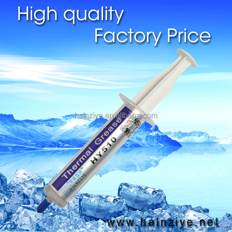 High performance Grey thermal silicone grease compound for CPU/led cooler