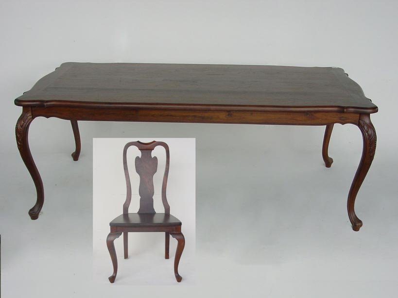 Enjoyable Colonial Style Dining Table With Chairs Buy Colonial Dining Table Product On Alibaba Com Download Free Architecture Designs Rallybritishbridgeorg