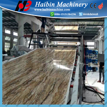 pvc film/sheet extrusion machine line for water proof material