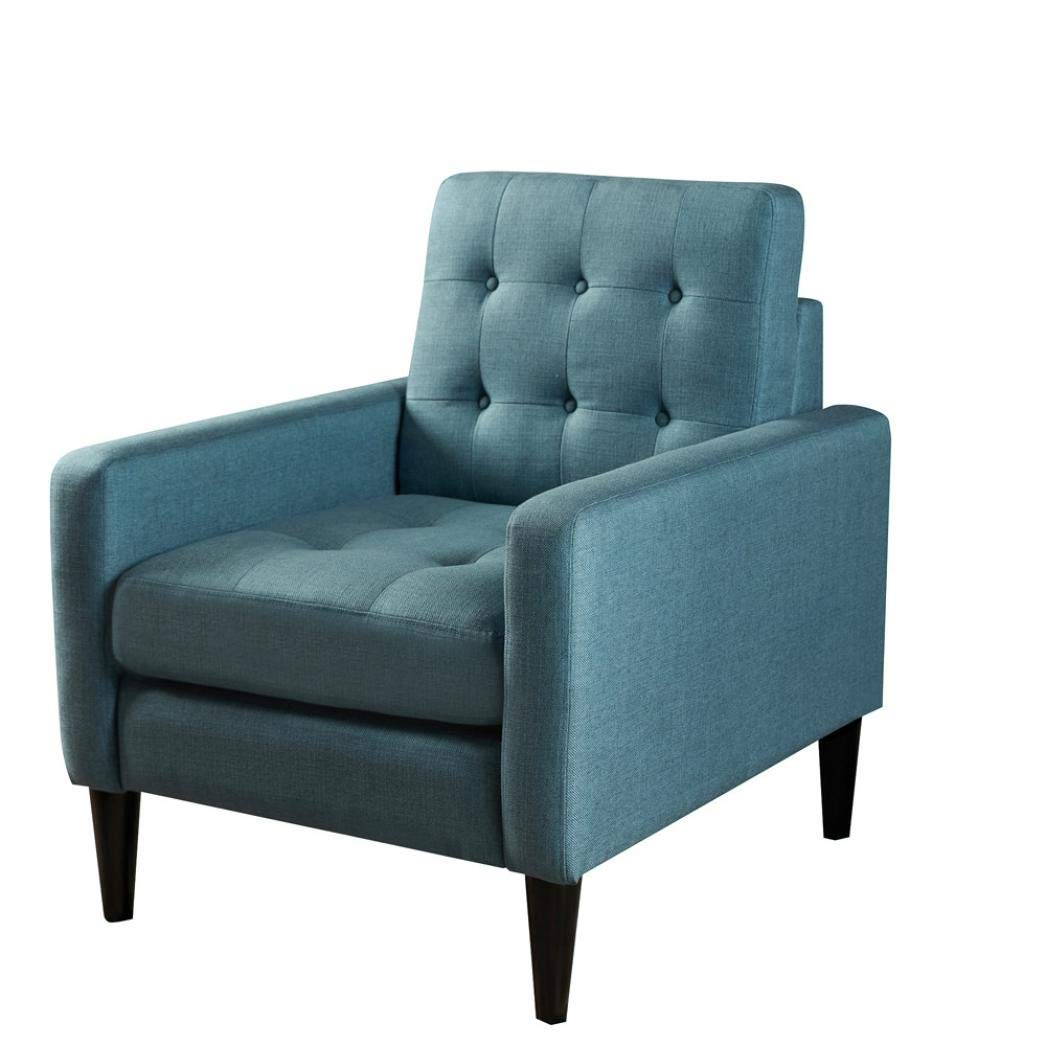 Modern Noble Sofa Chair,Simple Solid Color Living Room Furniture Sofas Couches 30.730.735 inch (bule)
