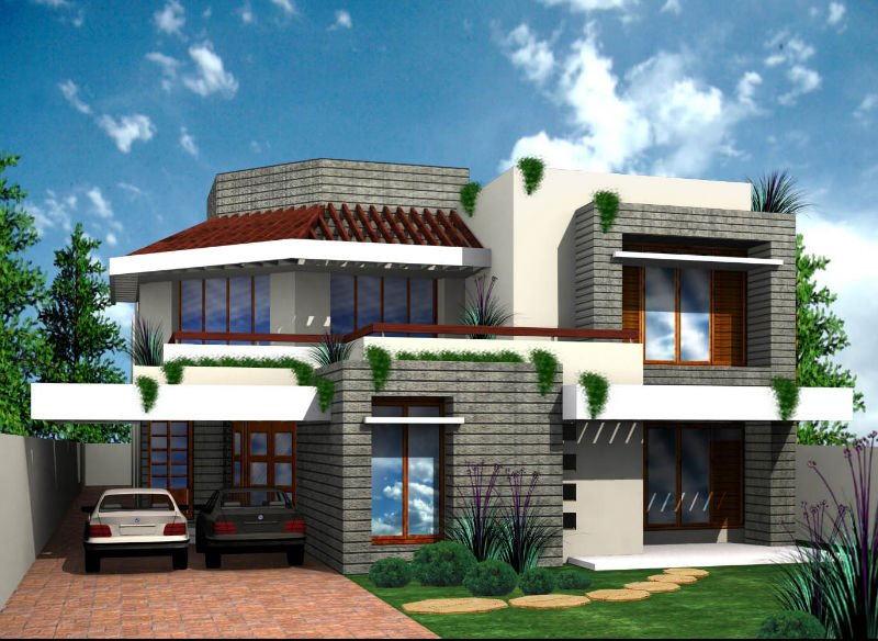 Architecture maison et ville plans 2d et 3d conception Architecture 3d maison