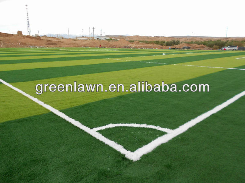 PE mesh china Field green artificial grasss for football