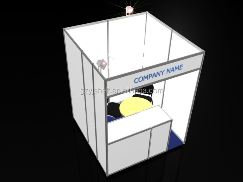 Standard Exhibition Booth : Standard aluminium booth outdoor exhibition stand