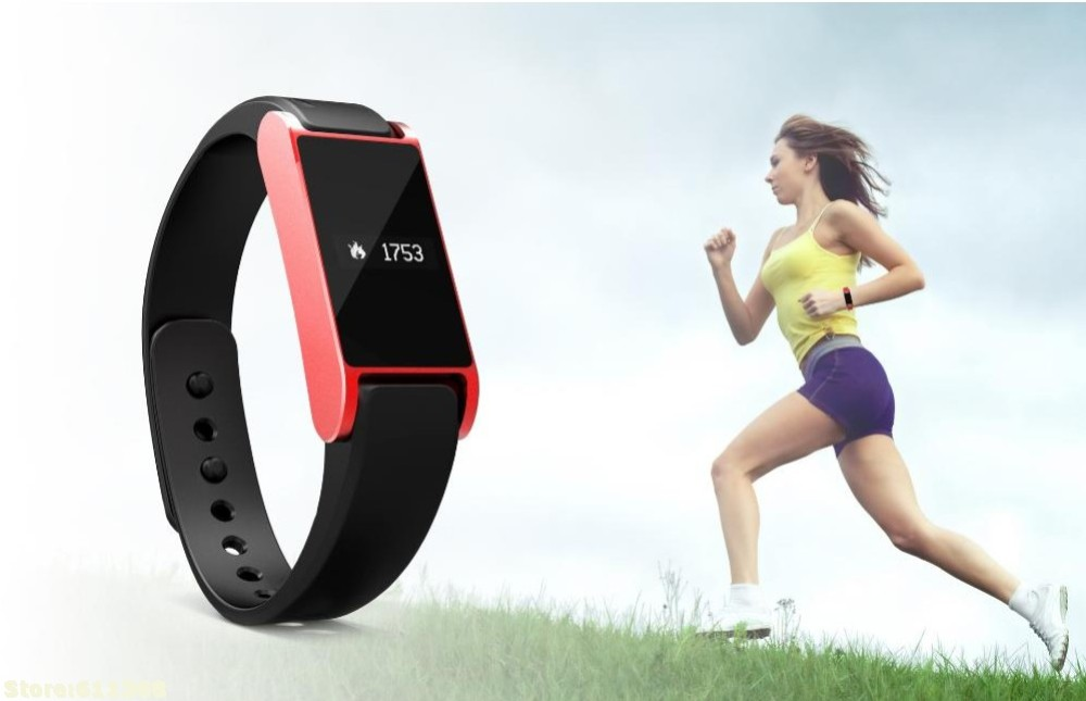 Promotion I6 Bluetooth Watch Smart Bracelet Sport Smart Bracelet Hand ring Tracking Sleep Health Fitness Running Pedometer-Black