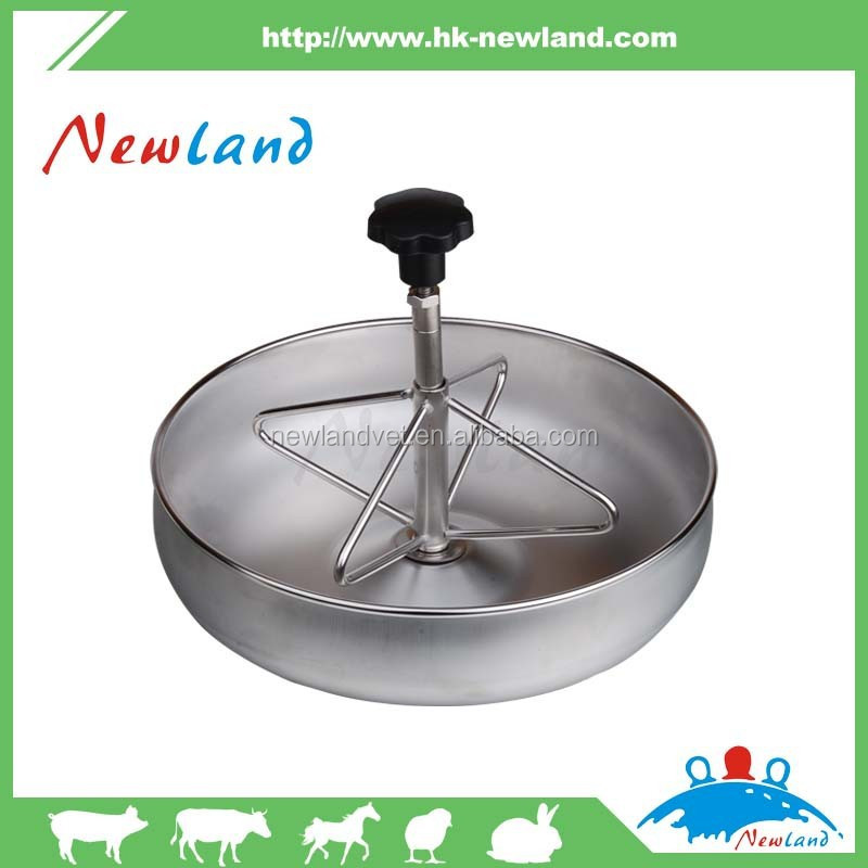 Metal Pig Feeder Pig Feeding Bowl Animal Husbandry Equipment
