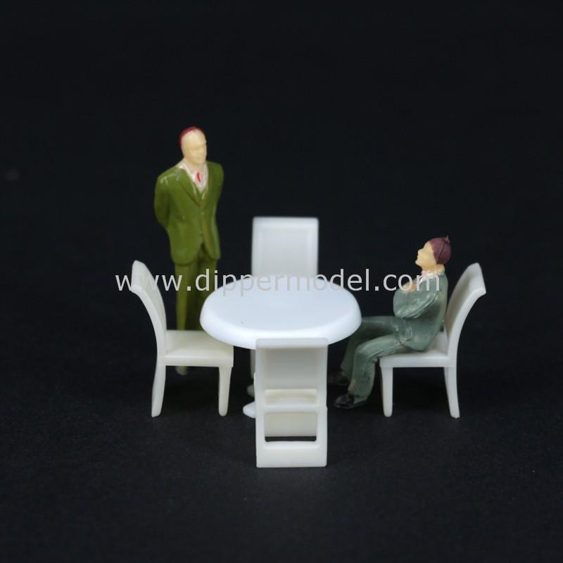1:50 1:75 1:100 1:150 Scala Mini Modello Di Plastica Da Pranzomeetingrestaurantleisure Tavoli $ Sedie Per La Scala Architettonica Modello Buy