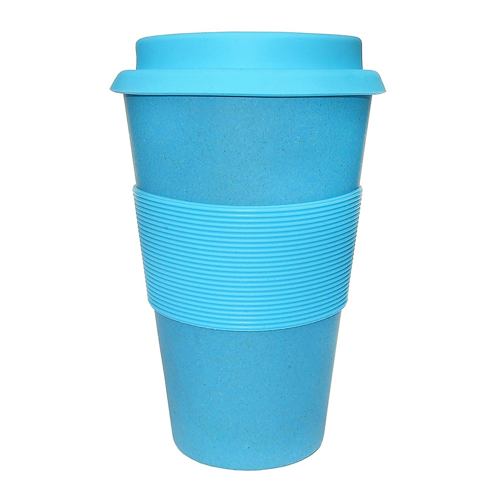 Eco-Friendly 14OZ 400ML Bamboo Fiber Travel Mugs Eco Mug