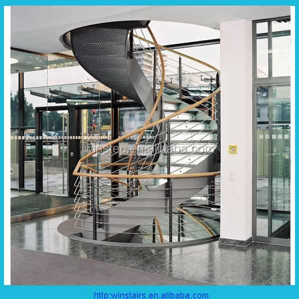 Modern Curved Collapsible Stairs   Buy Modern Steel Staircase,Indoor Steel  Stairs,Portable Steel Stairs Product On Alibaba.com