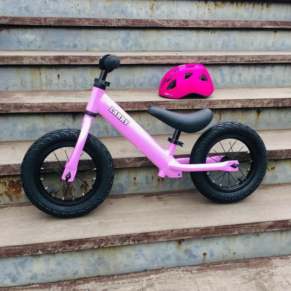 LarrySport Light Children 12inch balance bike ride on toy outdoor bicycle Cycling Unique Baby Bike Girls and Boys <strong>Cycle</strong>