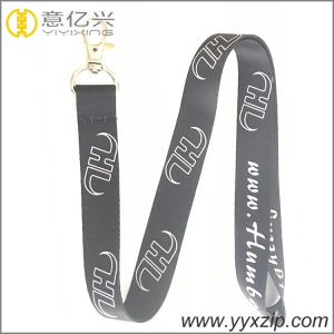 Thick hand woven sublimation fabric lanyard , mobile phone strap hang around neck