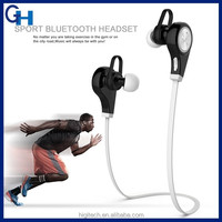 Q9 Bluetooth 4.0 music earbud sport wireless earphones for Computers Smartphone Tablets