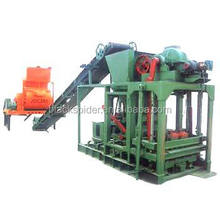 Qtj4-26 Small Invest Of Brick Plant For Fly Ash Bricks