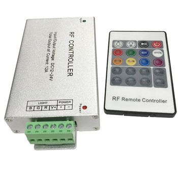 5050 smd remote control rgb light with strips rf led strip controller