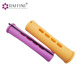 Flexible plastic cold wave rods hair rollers with rubber band