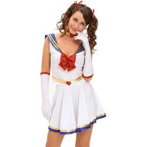 af304efe33a 5pcs Anime Adult Sexy Sailor Moon Costume