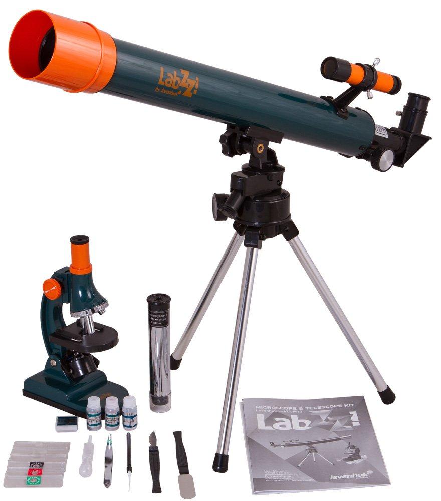 Levenhuk LabZZ MT2 Educational Kit for Kids (Microscope and Telescope)