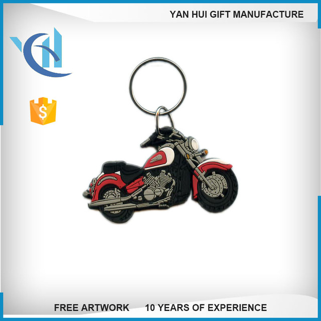 customized 3d soft pvc rubber promotion keychain factory 3d keychain