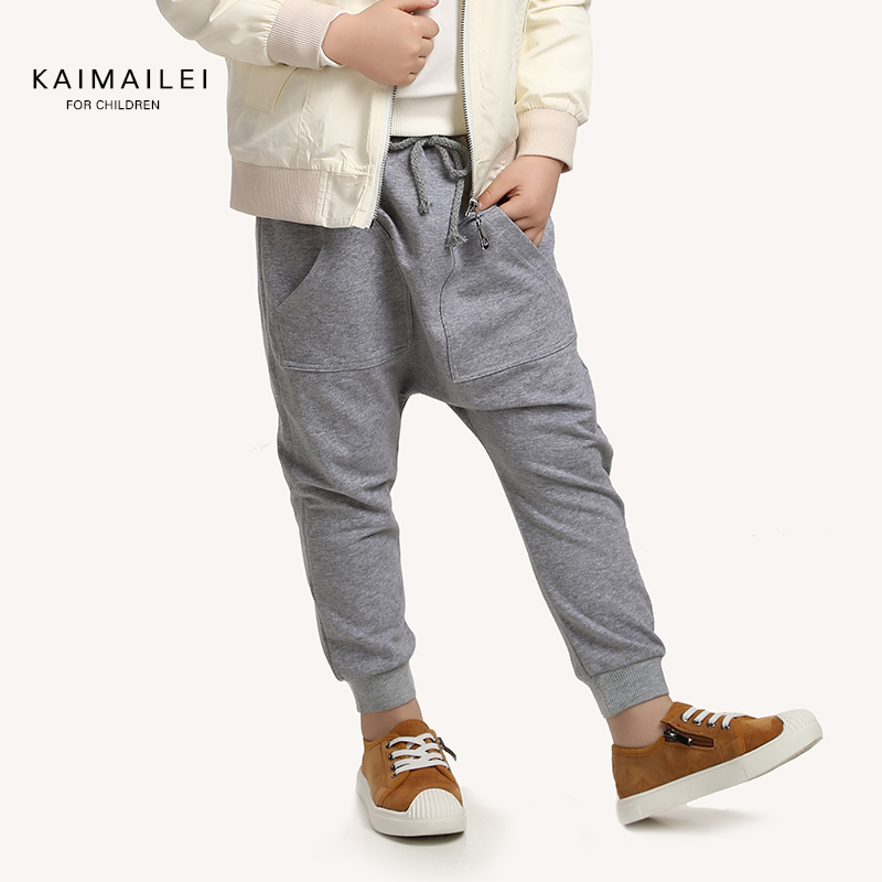2016 child spring harem pants male child casual long trousers 3 14 years old boy spring