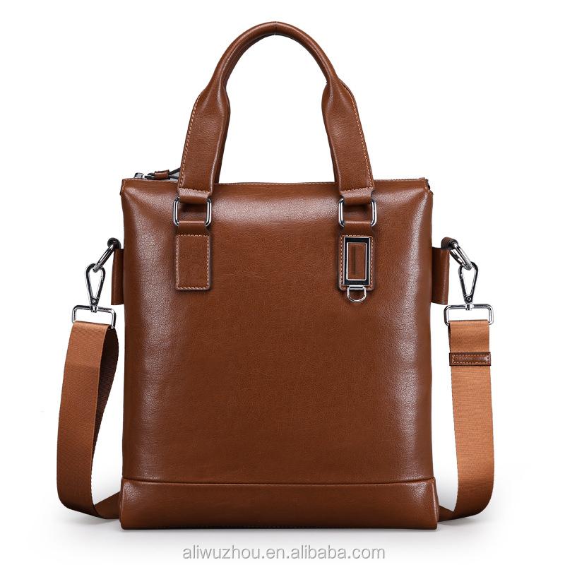 405d1d7071d34 حار بيع أزياء رجالية حقائب الأعمال الراقية حقائب جلدية الكتف رسول حقيبة  لينة جودة عالية بو