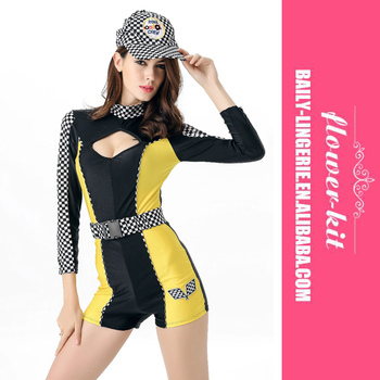 Sexy racer costumes