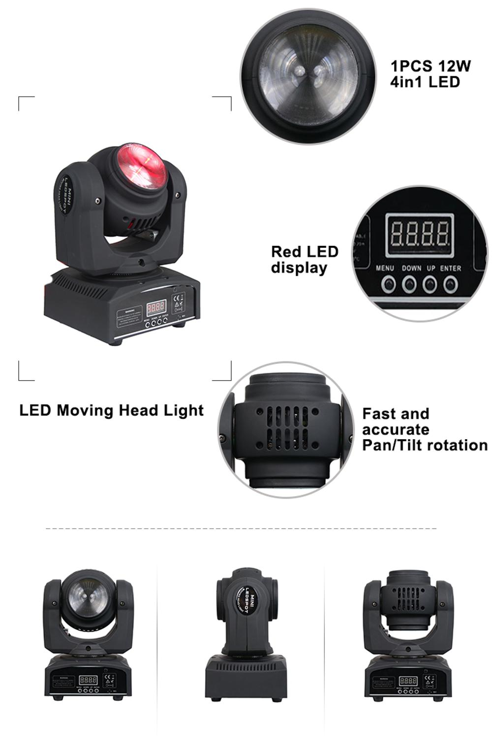 4 In1 Moving Head Light