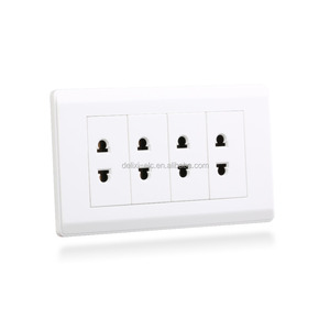 4 hole wall socket electrical sockets switches wall socket