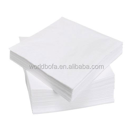 Custom logo printed disposable paper napkin
