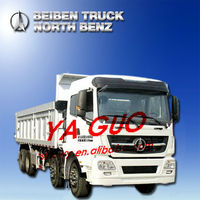 30ton Beiben(north Benz) V3 380hp 12-wheerl Dump Tipper Truck ...