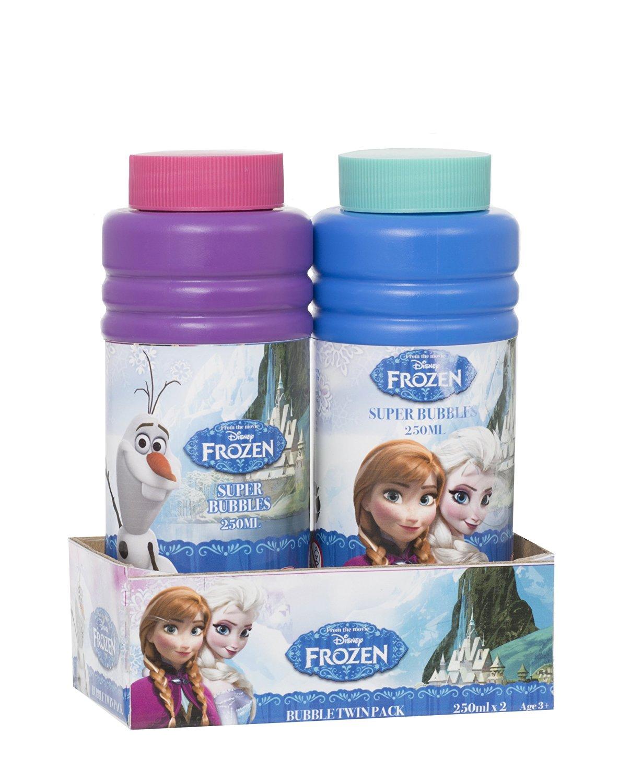 Pack Of 2 Frozen Super Bubbles - 250ml Per Bottle - Party Bag Toys - Frozen Toys