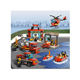 diy 6 in 1 Fighting building block fire truck fire station toy compatible with legoes brick figures