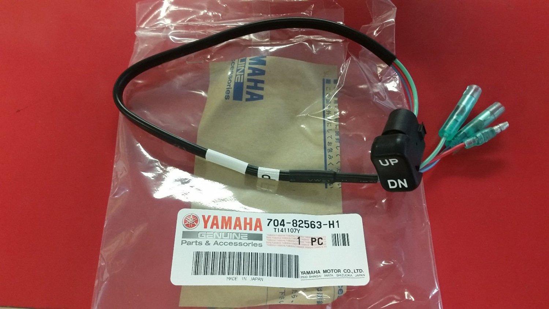 Yamaha 704-82563-H1-00 TRIM & TILT SWITCH A; 70482563H100