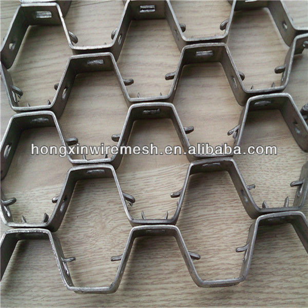 hex perforated sheet metal
