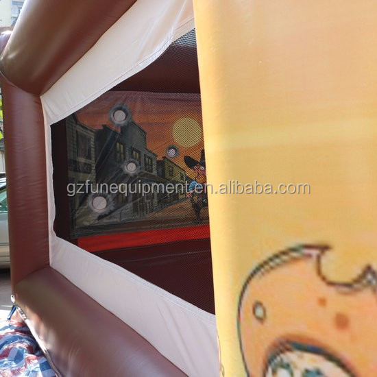 Giant Inflatable Wild West Shootout House,.JPG