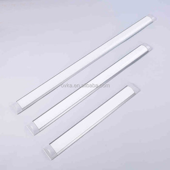 18W Industrial Modern Strip Shaped Ceiling Light Silver Office Hanging  Indoor Lamp