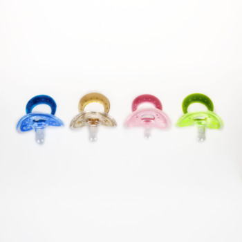 BPA free baby pacifier clips holder big nipple pacifier with baby silicon ring pacifier