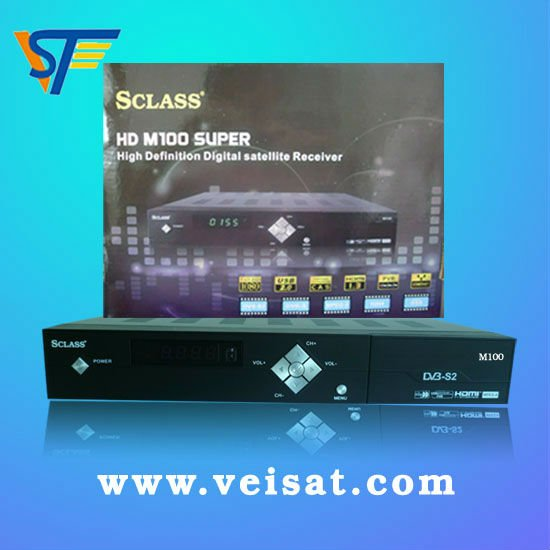 SCLASS M100 HD mpeg4 receiver